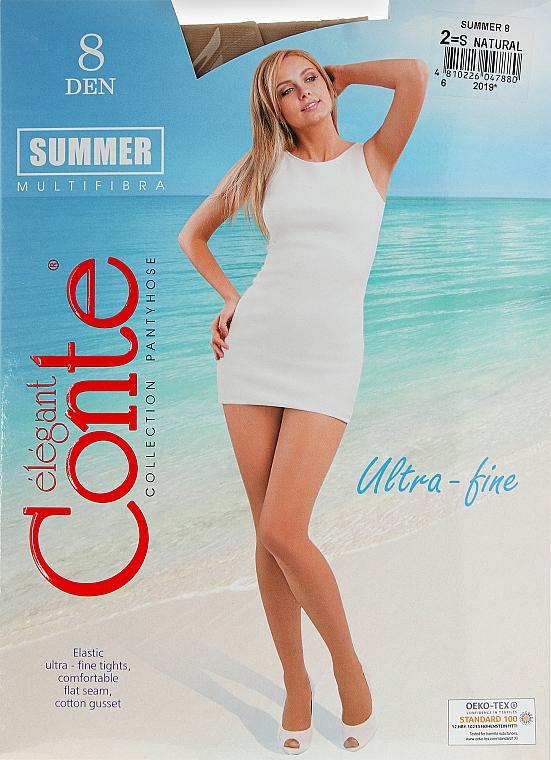 Колготки для женщин «Summer» 8 Den, natural - Conte