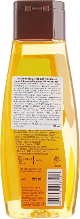 Масло для волос Золотой Миндаль - Biofarma  — фото N2