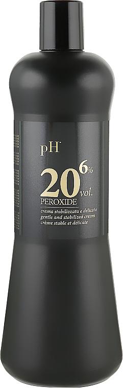 Окислитель для волос Арган и Кератин 6% - pH Laboratories Argan&Keratin Peroxide