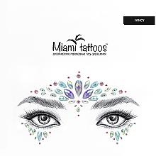 Духи, Парфюмерия, косметика Клеящиеся кристаллы для лица - Miami Tattoos Fancy