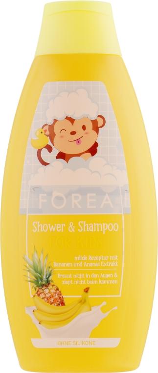 Шампунь-гель для душа - Forea For Kids Shower & Shampoo
