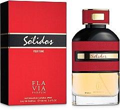 Духи, Парфюмерия, косметика Flavia Solidos Pour Femme - Парфюмированная вода (тестер с крышечкой)