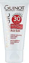Духи, Парфюмерия, косметика Антивозрастной крем от солнца - Guinot Age Sun Anti-Ageing Sun Cream Face SPF30