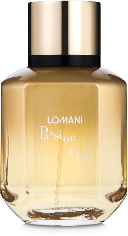 Lomani Passion D`or For Women - Парфюмированная вода