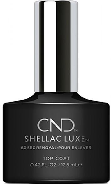 Закрепитель гель-лака - CND Shellac Luxe Top Coat