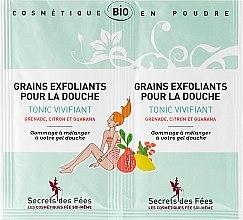 Духи, Парфюмерия, косметика Скраб для тела с гуараной - Secrets des Fees Grains Exfoliants Douche Tonic Vivifiant