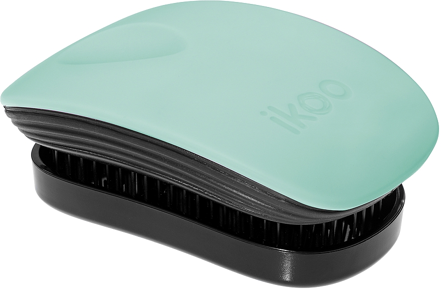 Расческа для волос - Ikoo Pocket Black Ocean Breeze