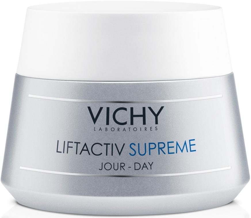 Средство длительного действия: коррекция морщин и восстановление упругости кожи, для сухой кожи - Vichy Liftactiv Supreme Day Dry Skin