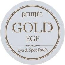 Духи, Парфюмерия, косметика Гидрогелевые патчи для глаз с золотом - Petitfee&Koelf Gold&EGF Eye&Spot Patch