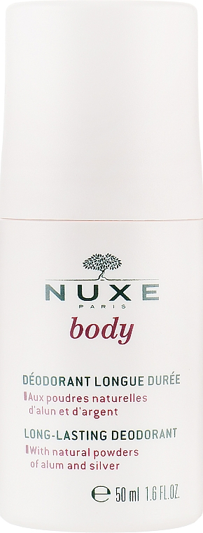 Шариковый дезодорант - Nuxe Body Long-Lasting Deodorant