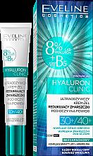 Духи, Парфюмерия, косметика Крем-гель под глаза - Eveline Cosmetics Hyaluron Clinic 30+/40+
