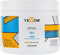 Духи, Парфюмерия, косметика Гель для волос сильной фиксации - Yellow Style Fixing Gel
