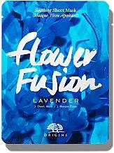 Духи, Парфюмерия, косметика Успокаивающая тканевая маска для лица с лавандой - Origins Flower Fusion Lavender Soothing Sheet Mask