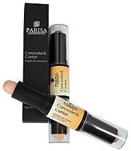 Духи, Парфюмерия, косметика Двойной карандаш-стик для контурирования - Parisa Cosmetics Highlighter CH-04