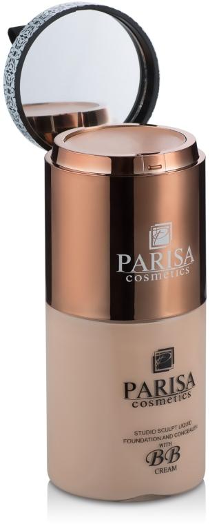 Тональный крем с корректором - Parisa Cosmetics Affinititone