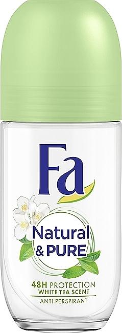 """Антиперспирант роликовый - Fa Deodorant Природная свежесть """"Белый чай"""""""