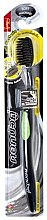 Духи, Парфюмерия, косметика Антибактериальная зубная щетка c углем, зеленая - Twin Lotus Bamboo Charcoal Toothbrush