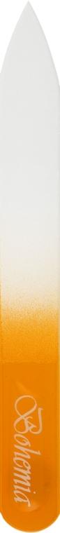 Пилка для ногтей стеклянная 90 мм, 03-071A, желтая - Zauber