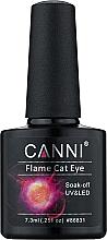 """Духи, Парфюмерия, косметика Гель-лак """"Огненный кошачий глаз"""" - Canni Flame Cat Eye Gel"""