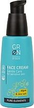 Духи, Парфюмерия, косметика Крем для лица - GRN Pure Elements Algae & Sea Salt Face Cream
