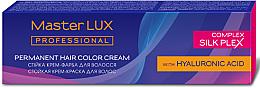 Духи, Парфюмерия, косметика УЦЕНКА Стойкая крем-краска для волос - Master LUX Professional Permanent Hair Color Cream *