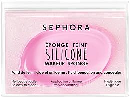 Духи, Парфюмерия, косметика Силиконовый спонж для макияжа - Sephora Silicone Makeup Sponge