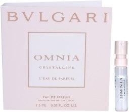 Духи, Парфюмерия, косметика Bvlgari Omnia Crystalline - Парфюмированная вода (пробник)