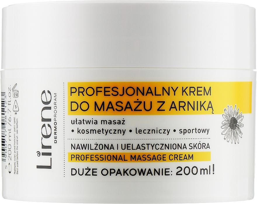 "Крем для массажа ""Арника"" - Lirene Professional Massage Cream"