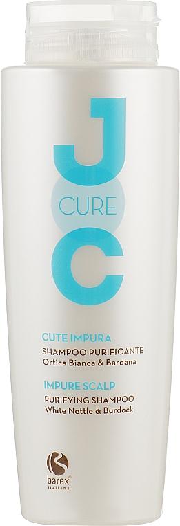 Очищающий шампунь с экстрактом белой крапивы - Barex Italiana Joc Cure Purifying Shampoo