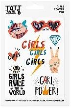 Духи, Парфюмерия, косметика Временные тату - TATTon.me Girls Power Set