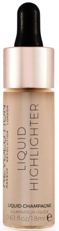 Жидкий хайлайтер для лица - MakeUp Revolution Liquid Highlighter