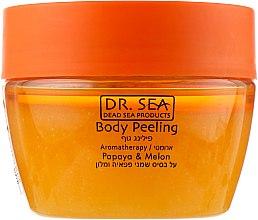 """Духи, Парфюмерия, косметика Ароматический пилинг для тела с маслами """"Папайи и Дыни"""" - Dr. Sea Body Peeling"""