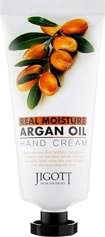 Крем для рук с аргановым маслом - Jigott Real Moisture Argan Oil Hand Cream