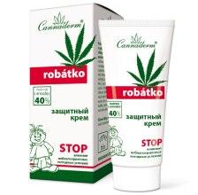 Духи, Парфюмерия, косметика Защитный крем для ухода за кожей детей и очень чувствительной кожей взрослых - Cannaderm Robatko Cream