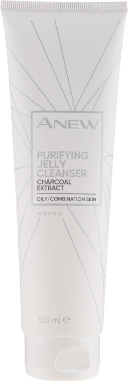 Очищающее желе с экстрактом угля - Avon Anew Purifying Jelly Cleanser With Charcoal Extract