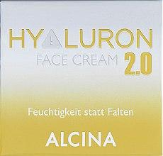 "Духи, Парфюмерия, косметика Крем увлажняющий для лица ""Гиалурон+"" - Alcina Hyaluron+ Face Cream"
