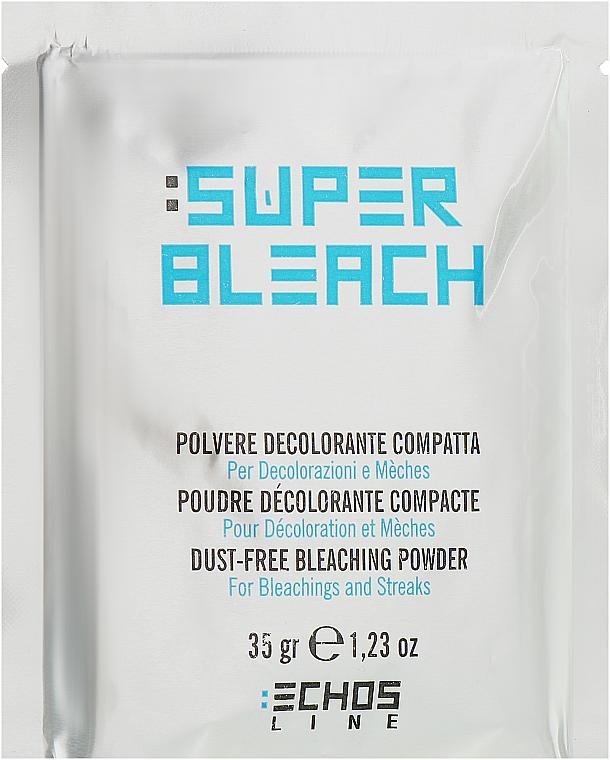 Беспылевой блонд-порошок белый - Echosline Dust-free Bleaching Powder White