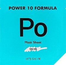 Духи, Парфюмерия, косметика Тканевая маска, сужающая поры - It's Skin Power 10 Formula Mask Sheet P