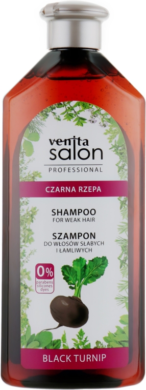Шампунь для волос - Venita Salon Professional Black Turnip Shampoo