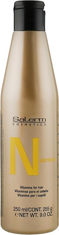 Питательный шампунь - Salerm Linea Oro Nutrient Shampoo