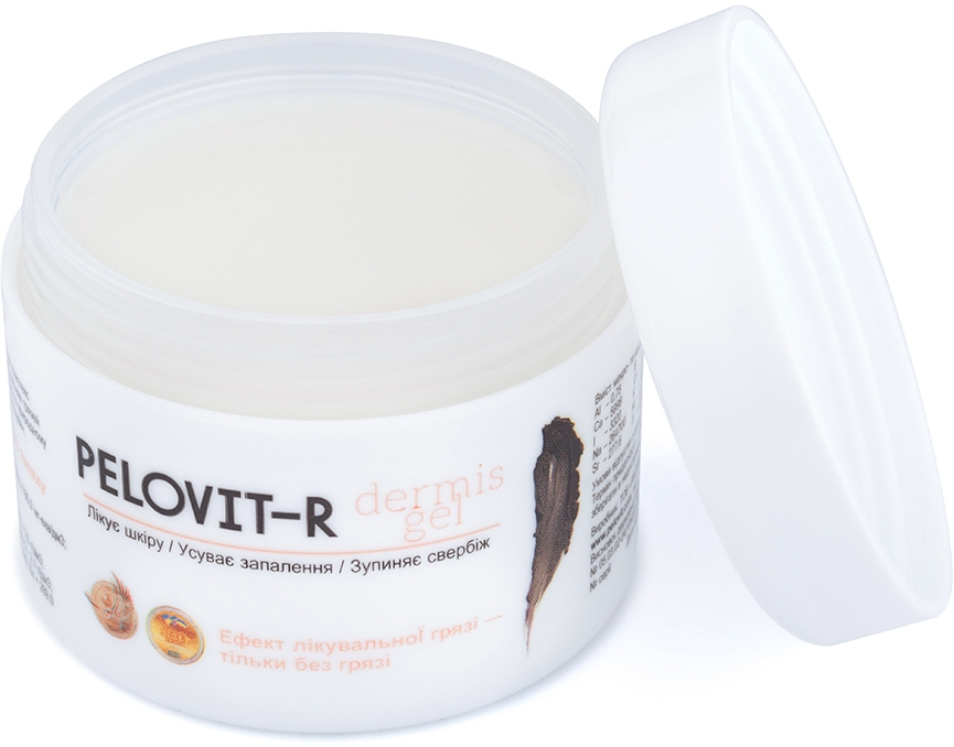 Восстанавливающий гель для тела с минералами Куяльника - Pelovit-R Dermis-gel