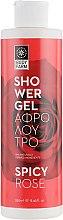 """Духи, Парфюмерия, косметика Гель для душа """"Пикантная роза"""" - Bodyfarm Spicy Rose Shower Gel"""