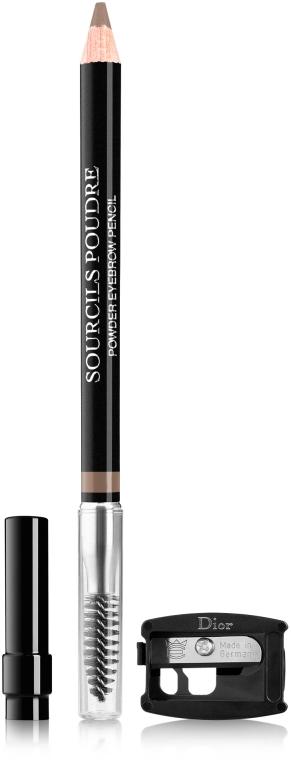 Пудровый карандаш для бровей - Dior Powder Eyebrow Pencil