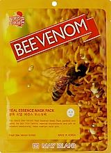 Духи, Парфюмерия, косметика Тканевая маска с пчелиным ядом - May Island Real Essence Bee Venom Mask Pack