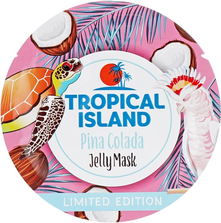 Питательная гелевая маска с кокосовой водой - Marion Tropical Island Pina Colada Jelly Mask