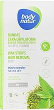 Духи, Парфюмерия, косметика Восковые полоски для депиляции тела - Body Natur Wax Strips for Body Normal-Dry Skin