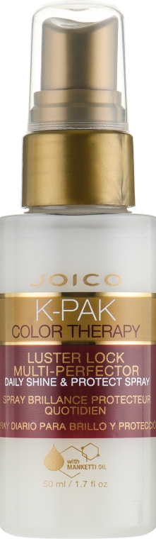 Спрей-кондиционер для волос - Joico K-Pak Color Therapy Luster Lock Multi-Perfector Daily Shine and Protect Spray