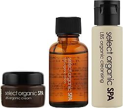Духи, Парфюмерия, косметика Набор - Dr. Select Organic SPA: LBS Organic Trial Set (gel/30ml + f/lot/30ml + cr/8ml)