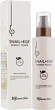 Духи, Парфюмерия, косметика Тонер для лица с экстрактом улитки Secret Skin - Snail+Egf Perfect Toner