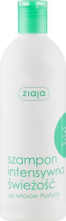 """Шампунь освежающий для жирных волос """"Мята"""" - Ziaja Shampoo"""
